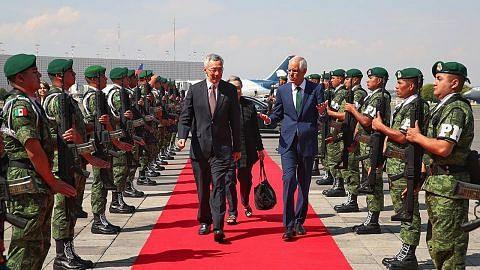 PM Lee mula lawatan ke Mexico