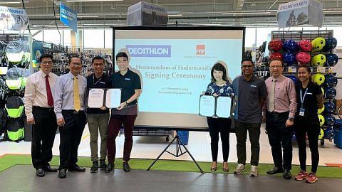 Kerjasama ITE-Decathlon latih pelajar bidang runcit sukan