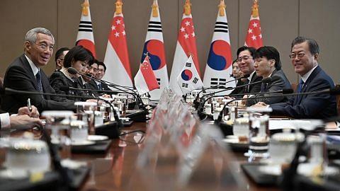 Perjanjian diperluas: Lebih banyak penerbangan S'pura-Korea S