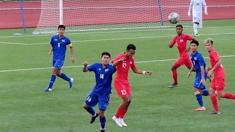 Perjuangan Singa Muda berakhir selepas tumpas 0-3 di tangan Thai