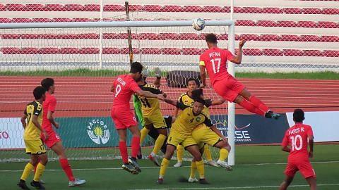 Singa Muda tebus maruah, belasah Brunei 7-0