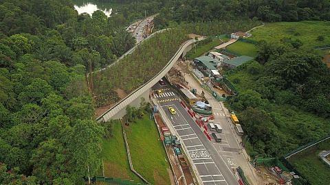 Jambatan bagi lindungi haiwan hutan simpanan di Mandai