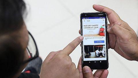 Telefon bimbit bekas banduan dilengkapi aplikasi hubungkan Iscos, majikan
