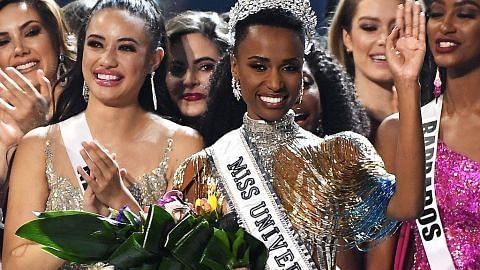 RATU UNIVERSE 2019 Ratu Afrika Selatan pejuang hak wanita