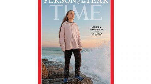 Aktivis iklim Greta Thunberg 'Tokoh Tahun Ini' majalah Time