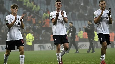 PIALA LIGA Pasukan muda Liverpool tewas teruk di tangan Villa