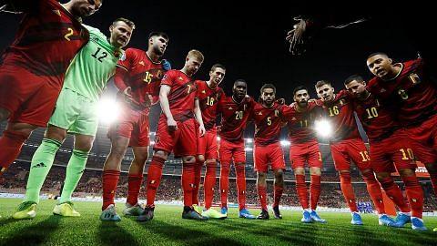 Belgium kekal No 1 di dunia