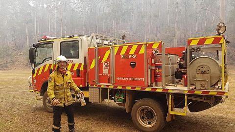 Siswa warga S'pura bantu padam kebakaran di Sydney secara sukarela