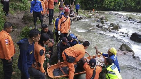 Angka korban nahas bas di Sumatera naik 35 orang