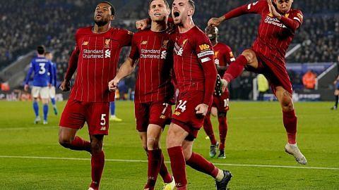 Liverpool terus gigih 'belasah' pesaing, giliran Leicester jadi mangsa...