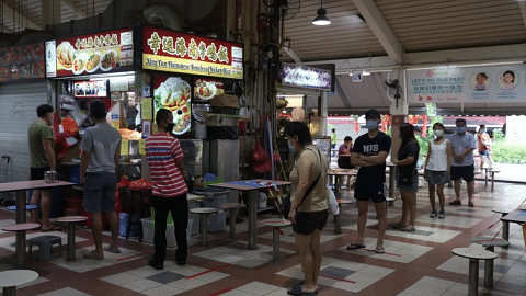 Additional two months of rental waivers for stallholders at NEA-managed hawker centres