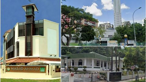 Three mosques visited by Covid-19 patients closed for cleaning on Wednesday