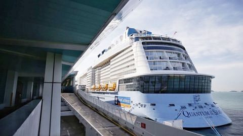 Royal Caribbean cruise ship returns to S'pore after passenger tests positive for Covid-19