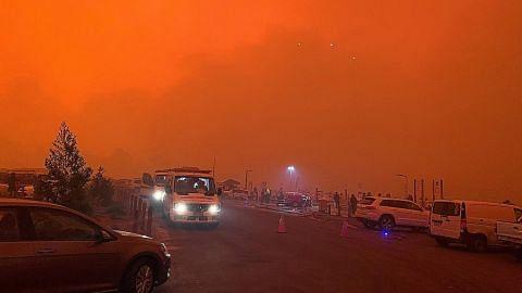 Skala kebakaran yang melanda kali ini tidak seperti sebelumnya Langit Australia terus 'menyala'