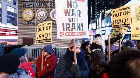 Trump kelihatan redakan tegang lepas serangan Iran