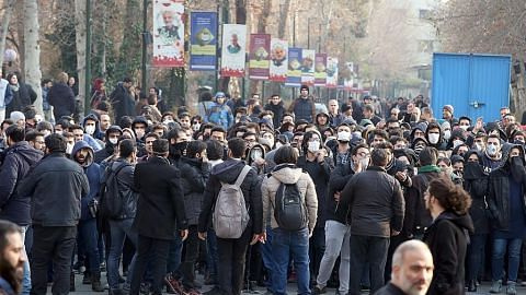Tembak jatuh pesawat: Iran tahan beberapa orang, berkas 300 terlibat dalam bantahan