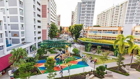 Projek pembaharuan kawasan Jurong Lake selesai: HDB