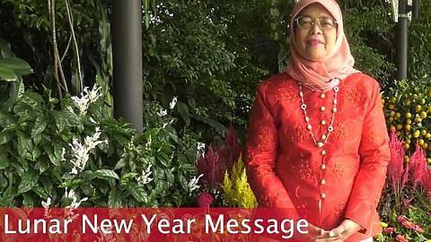 Presiden Halimah: CNY dapat erat hubungan keluarga