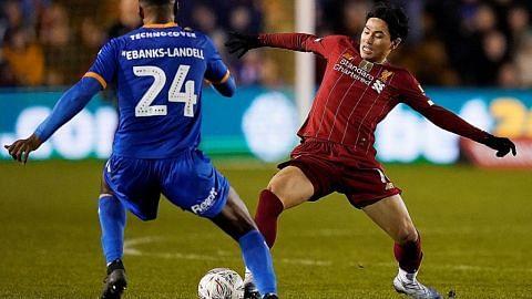 PIALA FA ENGLAND Barisan pelapis Liverpool 'sangkut' bila jumpa Shrewsbury