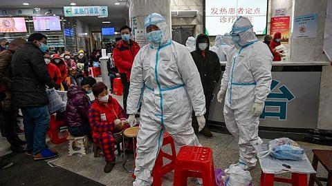 Pegawai kesihatan China dipecat sebab gagal jawab soalan