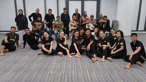 Program seni hayati sejarah tarian Zapin
