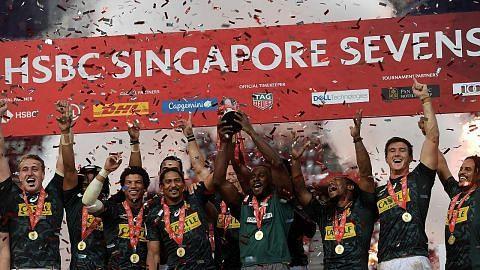Rugby Sevens Singapore ditangguh hingga Okt