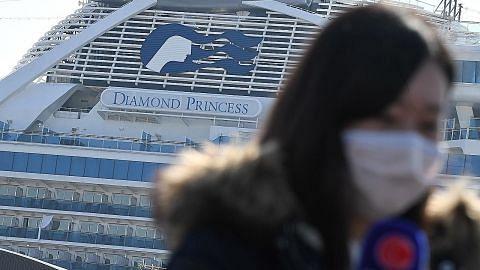 Warga SG tamat kuarantin di kapal Diamond Princess