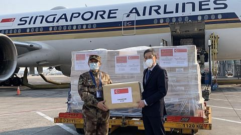 S'pura kirim bantuan kedua ke China
