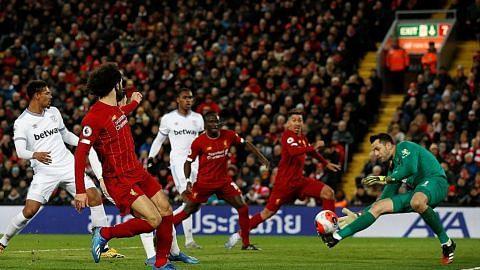Liverpool kekal rekod tanpa kalah, atasi West Ham 3-2 LIGA PERDANA ENGLAND
