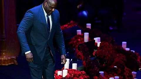 BOLA KERANJANG Bintang, peminat bola keranjang kenang kehidupan Kobe Bryant