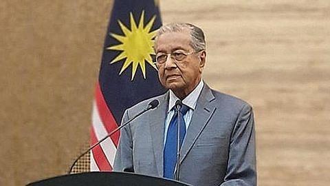 Mahathir mahu tubuh kerajaan tidak berpihak pada sebarang parti
