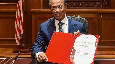 Muhyiddin mula tugas sebagai PM M'sia