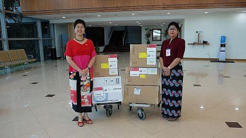 SG sumbang kit uji Covid-19 kepada Myanmar