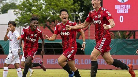 LIGA PERDANA SINGAPURA Gol saat akhir ranapkan harapan Balestier raih kemenangan pertama