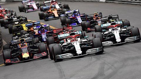 Syarikat minyak Arab Saudi, Aramco, taja Formula Satu