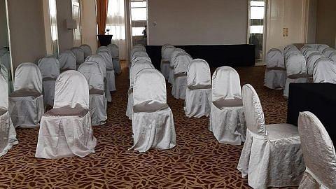 Mujur dapat ruang alternatif bagi akad nikah empat hari sebelum majlis...