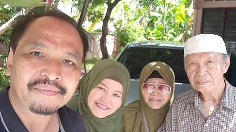 Pasangan pelakon Mahyonis, Azman terpaksa pisah sementara
