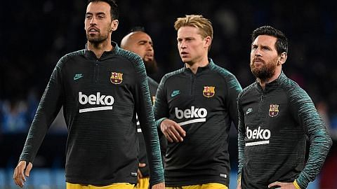 Barcelona potong gaji pemain dek koronavirus