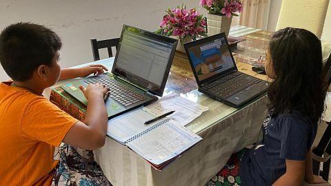 Pelajar SG mulakan pembelajaran dari rumah