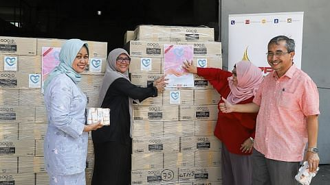 PPIS, SuChi Success jual sanitiser tangan kumpul dana