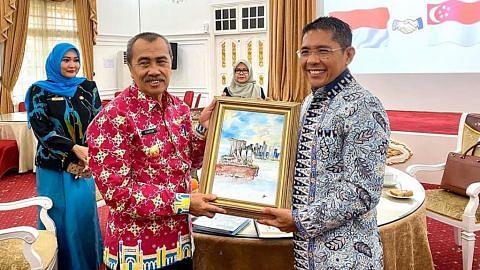 Maliki: Peniaga S'pura boleh jadi rakan kongsi pertumbuhan Jambi, Riau