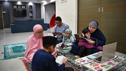 Jadikan rumah kita masjid Ramadan ini