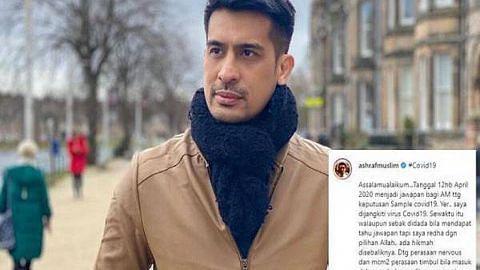 Ashraf Muslim jalani rawatan bagi jangkitan Covid-19
