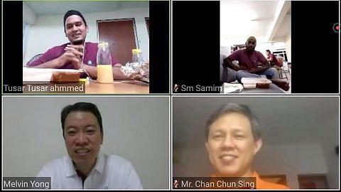Chun Sing sertai 'berbuka puasa' bersama pekerja asing menerusi Zoom