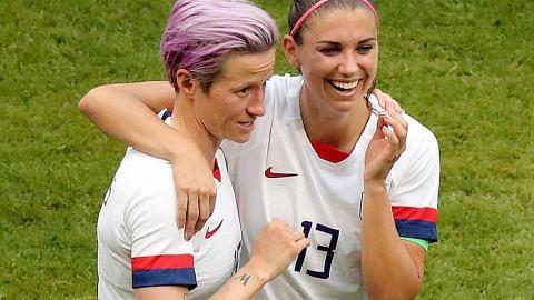 Bintang bola wanita AS 'terkejut', rayu kekalahan gaji setara