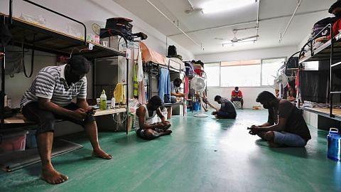 Pemeriksaan ditingkat ke atas dormitori pekerja asing