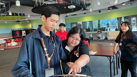 Pelajar ITE tabur bakti Terdorong hargai pekerja barisan depan