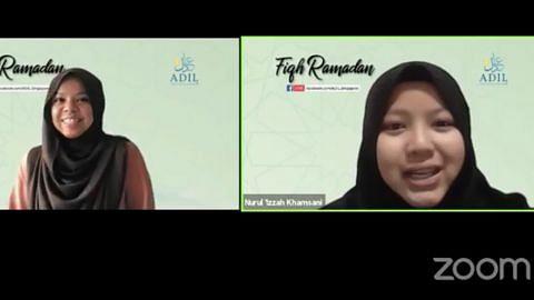 Tingkat penghayatan diri sepanjang Ramadan