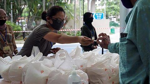 Relawan #SGUnited Buka Puasa sumbang kemahiran