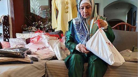 Baju Raya terkandas di Indonesia kini di S'pura